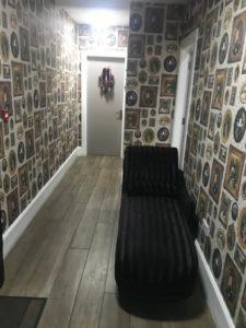 Hallway to toilets/ smoking area